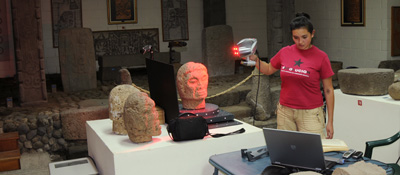 3D scanning maya archaeology